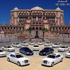 #EmiratesPalace #Dubai #AbuDhabi #Hotel Luxury vehicle, Palace, Luxury, Fleet vehicle - Follow #extremegentleman for more pics like this!