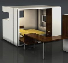 """LOVE! Simple Compact Bedroom """"The ROOM"""" by ODA"""