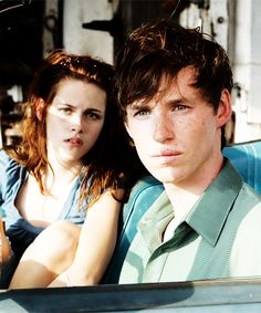 Eddie Redmayne & Kristen Stewart in The Yellow Handkerchief ...I couldn't stand Eddie's character in this movie lol