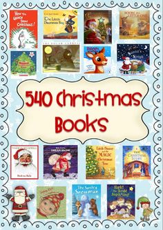 Christmas Book Bin Labels and Book Lists for Classroom Library 70+ pages and 540 books to help you save time and organize