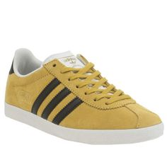 146 best adidas, barbour, timberland, p\u0026s, replay, diesel, armani et  womens adidas yellow gazelle og trainers yellow trainers, yellow adidas, trainer boots, red