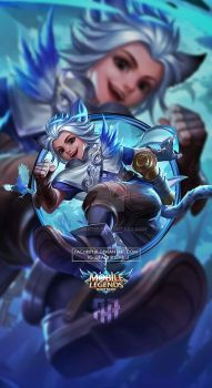Wallpaper Phone Harith Time Traveler by FachriFHR on DeviantArt Wallpaper Hd Mobile, Eagle Wallpaper, Hero Wallpaper, Wallpaper Keren, Bruno Mobile Legends, Alucard Mobile Legends, Moba Legends, Legend Games, The Legend Of Heroes