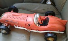 Remco shark car teather remote control 1961 #Remco