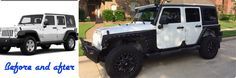 Before and after flares Jeep Wrangler Upgrades, 2015 Jeep Wrangler, Jeep Wrangler Unlimited, 4x4, Badass Jeep