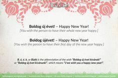 Boldog új évet! – Happy New Year! https://dailymagyar.wordpress.com/2016/12/24/boldog-uj-evet/ #HappyNewYear #Búék #BoldogÚjÉvet #Hungarian #HUN #language #grammar
