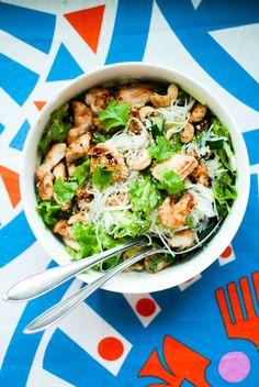 Ruokahommia: Kana-nuudelisalaatti
