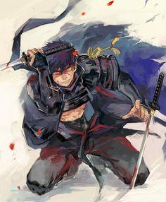 Doutanuki Masakuni by KoKiyoshi Character Concept, Character Art, Concept Art, Fantasy Comics, Anime Fantasy, Touken Ranbu, Fantasy Characters, Anime Characters, Samurai