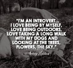 Audrey Hepburn on being an introvert. Love this!