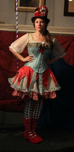 Victorian Circus Dresses