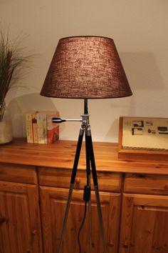 Stativlampe / Tripod - Lampe im Bauhausstil von talentfrei auf DaWanda.com