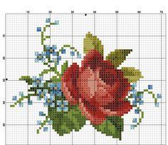 Kanaviçe Çiçek Örnekleri (4)