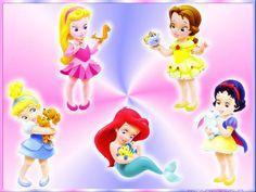 imagenes princesas disney bebes - Buscar con Google