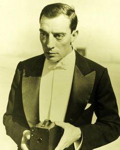 Buster Keaton, reverse channeling Jeremy Brett, here?