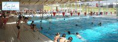 AquaJade, la #piscine avec un bassin sportif de 25 mètres, un bassin ludique, une lagune de jeux et un toboggan de 75 mètres ! Relaxez-vous sur les banquettes à bulles et profitez de la douceur de l'espace extérieur (rivière à bouées, solarium...)