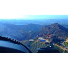 Malibu Rocky Oaks Vineyard @maliburockyoaks   View from helicopter above the horizon of mountains, vineyards and views. Mrowineclub@gmail.com