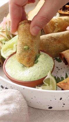 Tasty Vegetarian Recipes, Vegan Dinner Recipes, Veggie Recipes, Mexican Food Recipes, Whole Food Recipes, Cooking Recipes, Healthy Recipes, Vegan Foods, Vegan Meals