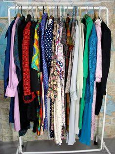 bidding starts at $14.95 vintage 80s Clothing Lot 25 Dresses Secretary Office Dress wholesale costume M L by wardrobetheglobe on ebay