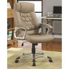 Contemporary Upholstered Executive Chair