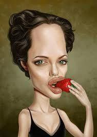 20 Funny Caricatures Of Famous Celebrities Angelina Jolie-Pitt Caricature Artist, Caricature Drawing, Funny Caricatures, Celebrity Caricatures, Cartoon Faces, Cartoon Art, Famous Celebrities, Beautiful Celebrities, Funny Faces Pictures