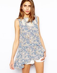 River Island Floral Tunic