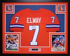 18cd9d617a2 John Elway Signed Broncos 35