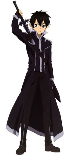 Kirito - Sword Art Online #sao #anime