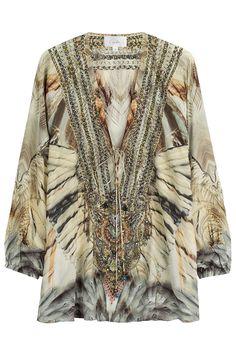 Camilla Embellished Silk Blouse Gr. 2 | STYLEBOP saved by #ShoppingIS