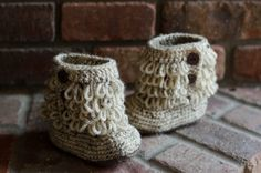 UGG inspired looped bootie by Bootiful2 on Etsy, $20.00