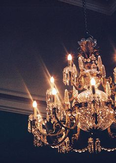 freepeople:  Chandelier required.