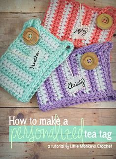 "//      //   Today I'm going to show you how I add personalized ""tea tags"" to my mug cozies! My Personalized Mug Cozy was an original item in my Etsy s"