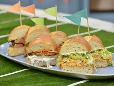 Get this all-star, easy-to-follow Buffalo Chicken Hoagie recipe from Katie Lee