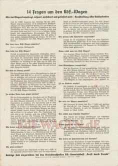 VW - 1939 - 14 Fragen um den KdF-Wagen - 2736 9.38 - [8330]-1