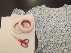 簡単☆お気に入りの洋服から型紙を作る方法 | ニューヨークの田舎で手作り生活☆舞台衣装デザイナーとセルビア人夫 + 娘 How To Make Clothes, How To Make Diy, How To Wear, Diy Hat, Love Sewing, Sewing Techniques, Sewing Crafts, Needlework, Diy And Crafts
