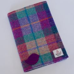 Harris Tweed & Liberty Notebook and Cover by CarberryCrafts on Etsy https://www.etsy.com/uk/listing/571218973/harris-tweed-liberty-notebook-and-cover