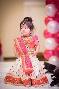 Baby girl dresses traditional 26 ideas for 2019 Cute Baby Dresses, Kids Party Wear Dresses, Kids Dress Wear, Baby Girl Party Dresses, Kids Gown, Birthday Girl Dress, Dresses Kids Girl, Kids Wear, Girls Frock Design
