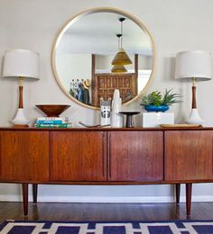 Mid-Century Dining room Makeover by Emily Henderson - I LOVE mid-century furniture! Mid Century Modern Living Room, Mid Century Dining, Mid Century Modern Decor, Mid Century Modern Furniture, Living Room Modern, Living Room Decor, Retro Furniture, Midcentury Modern, Furniture Ideas