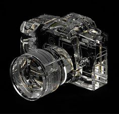 The pictures must be crystal clear. Canon SLR 3D Replica in Crystal
