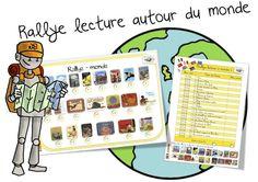 Rallye lecture autour du monde