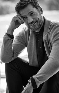 Nikolaj Coster-Waldau, photographed by Blair Getz Mezibov for Mr. Porter, Feb 2016.
