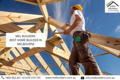 """""""Melbuilders"""" one of the best home builders in Melbourne that helps their customers to build their dream home. Find a house builder solution and get the best home contractors in Melbourne that complete desire house building goals. Home Builders Melbourne, Best Home Builders, Melbourne House, Construction Contractors, Building Contractors, Looking For Houses, House Building, Finding A House, Home Goods"""