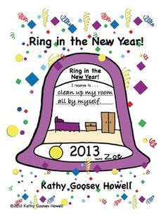 free ring in the new year new years activities teaching activities holiday
