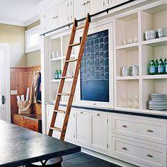 Create a Custom White Kitchen
