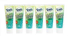 Tom's of Maine Natural Wicked Cool Fluoride Toothpaste, Mild Mint, 4.2 Ounce, Pack of 6 >>> Details can be found by clicking on the image.