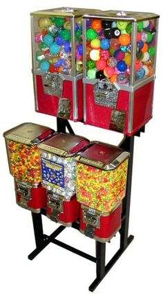 Candy & Toy Machines. Magic and suspense all-in-one....
