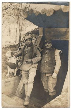 WW1, French engineers.                                                                                                                                                                                 More