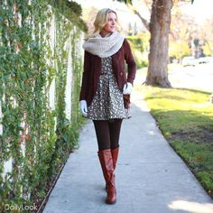 Turn your summer dresses into Fall outfits