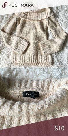 Super Soft Bebe Turtleneck Sweater Super soft and warm. No flaws. bebe Sweaters
