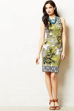 Anthropologie Aures Sheath dress on eBay