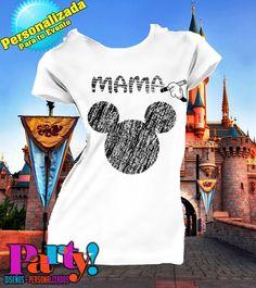 Playera Personalizada Mickey Mouse Gis - Jinx, playera, fiesta, personalizada, evento, ropa, camiseta, cumpleaños, programa, niños, trajes