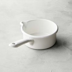 Riess Classic Saucepan with Spout #williamssonoma